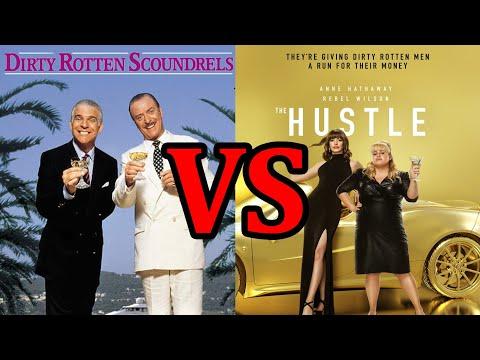 Dirty Rotten Scoundrels vs The Hustle - A Scene Comparison
