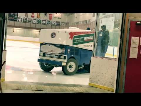 A Day In The Life Of A Zamboni Driver