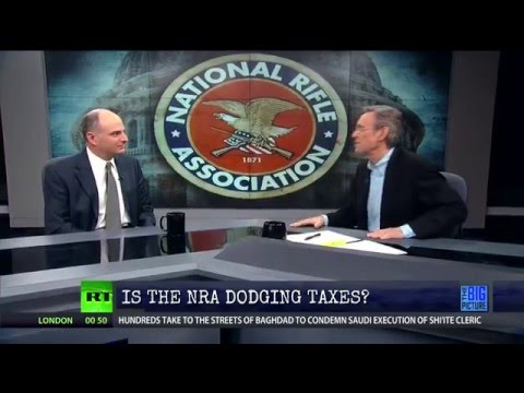 There's Something Strange About the NRA's Tax Filings