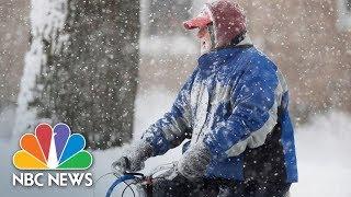 Weather 'Bomb Cyclone' Threatens East Coast, Bringing Snow, Cold, Ice   NBC News