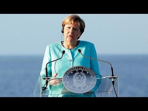 Η ευρωπαϊκή τουρνέ της Άνγκελα Μέρκελ