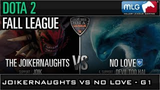 Fall League: The Joikernaughts vs No Love Game 1