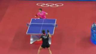 Table Tennis Slow-motion (2008 Beijing)