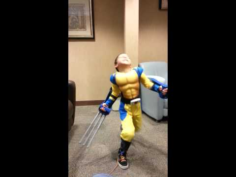 Wolverine Halloween Costume Jimmy