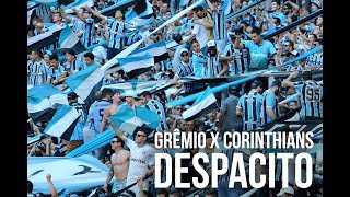 Torcida do Grêmio cantando Despacito na Arena no jogo contra o Corinthians pelo Brasileirão 2017 - 25/06/2017Te inscreve no canal: https://www.youtube.com/rduckerSegue o site em todas as plataformas:Facebook: https://www.facebook.com/ducker.com.br/Twitter: https://twitter.com/Ducker_GremioInstagram: https://www.instagram.com/ducker_gremio/