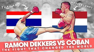 Ramon Dekkers vs Coban: The Fight That Changed The World