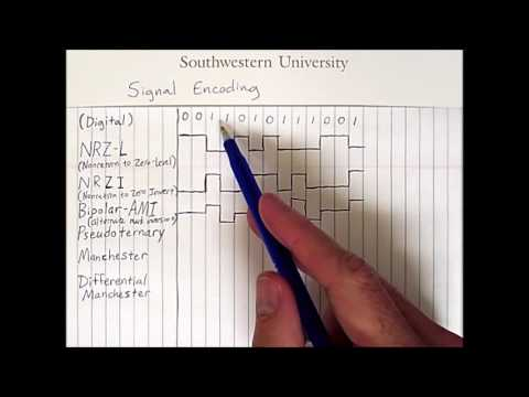 Signal Encoding 1: Digital Signals