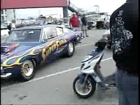 HEMI challenge Indy 2008 - Parade of HEMI cars