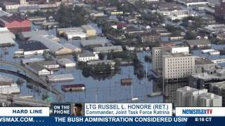 "Retired U.S. Army Lt. General, named by media the ""Category 5 General,"" who led Task Force Katrina in the aftermath of the ..."