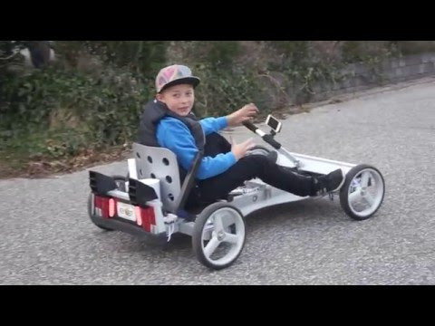 Näin tehdään mäkiauto puusta – How To Make Back To The Future Go Kart
