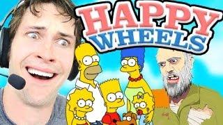 Happy Wheels - THE SIMPSONS