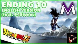 Download Lagu Dragon Ball Super Ending 10 [ENGLISH VERSION] | A 70cm Square Window | MasakoX (feat. 94Stones) Mp3