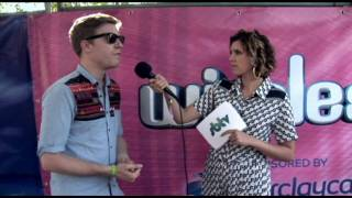 Backstage interview with Sub Focus at the Wireless Fest 2010