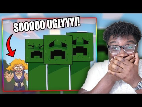 YO MAMA SO UGLY SHE SCARES MINECRAFT CREEPERS!   Try Not To Laugh Challenge YO MAMA EDITION!