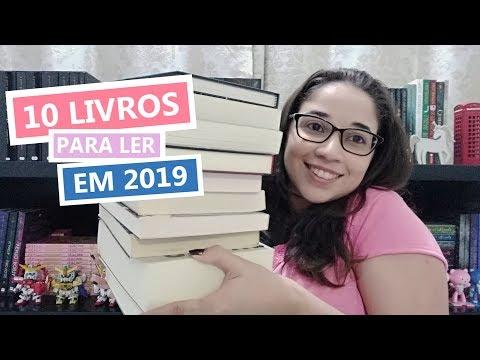 10 LIVROS PARA LER EM 2019 | Biblioteca da Rô