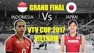 Video GRAND FINAL!!! Aprilia Manganang Vs Japan | VTV Cup 2017 Vietnam MP3, 3GP, MP4, WEBM, AVI, FLV Februari 2018