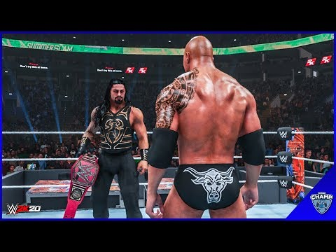 WWE 2K19 - Roman Reigns vs The Rock | Universal Championship!!