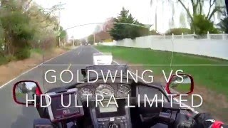 6. Goldwing vs HD Ultra Limited
