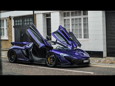 Mclaren P1 Purple  photos