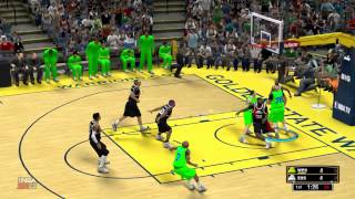 MOST FUNNY HILARIOUS NBA 2K14 MOMENT 2014