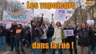 La cigarette électronique dans la rue !