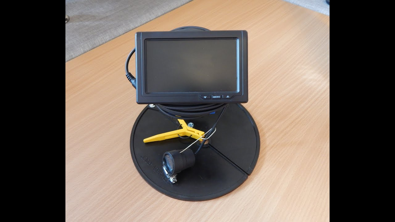 Подводная камера для зимней рыбалки за 3 тысячи рублей