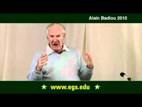 Alain Badiou. Darüber hinaus Positivismus und Nihilismus. 2010.