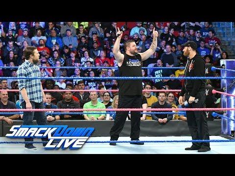 Sami Zayn & Kevin Owens confront Daniel Bryan: SmackDown LIVE, Oct. 17, 2017_Sport videók