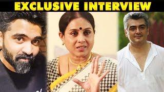 Video Ajith Appidi Simbu Ippidi - Saranya Ponvannan Interview   Galatta Exclusive MP3, 3GP, MP4, WEBM, AVI, FLV Desember 2018