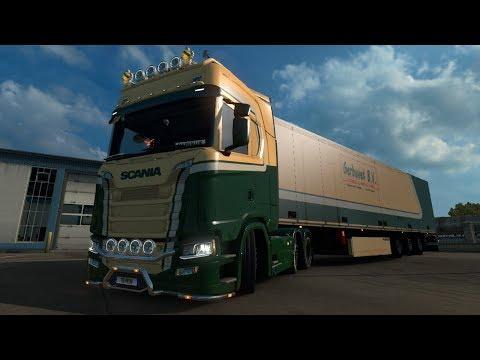 Scania S 2016 SCS Gerbuvet B.V. skin 1.30