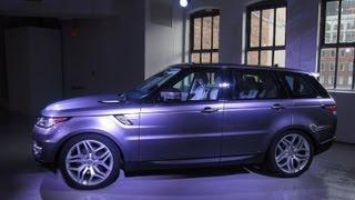 2014 Range Rover Sport -- 2013 New York Auto Show -- Edmunds.com