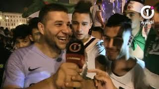 أجواء متميزة صنعها القسنطينيون تغبيرا عن فرحتهم بعد التتويج