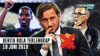 Video RESMI Totti Out dari Roma 😭 Sarri Minta 2 Pemain Ini 🔥 Tawaran MU ke Pogba -Berita Bola Terlengkap MP3, 3GP, MP4, WEBM, AVI, FLV Juni 2019