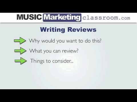Music Marketing Challenge Day 25 – Writing Reviews