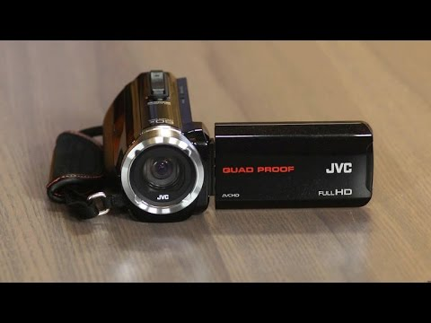 JVC Everio GZ-R10 goes where other camcorders can't