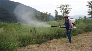video thumbnail Mist blower IZ-3315 youtube
