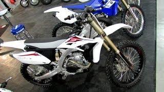 8. 2013 Yamaha YZ250F Off Road Competition Bike - 2012 Salon National du Quad - Off Road Vehicle Show