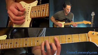 Roxanne Guitar Lesson - The Police