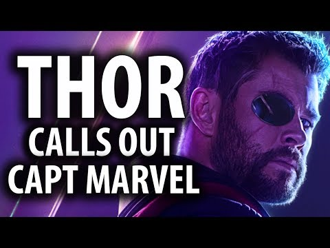 Thor Calls Out Captain Marvel's Arrogance