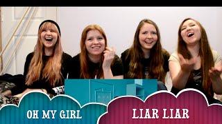 Video 오마이걸(OH MY GIRL) - LIAR LIAR MV Reaction MP3, 3GP, MP4, WEBM, AVI, FLV Juli 2018
