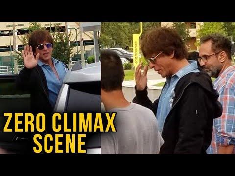Shah Rukh Khan Shooting ZERO Climax, Video Leaked