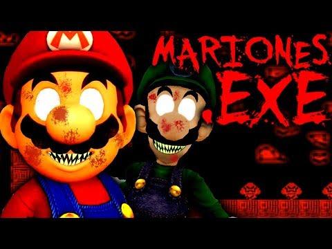 MarioNES.EXE - DID LUIGI KILL MARIO?! (Scary Super Mario Bros. Horror Game)