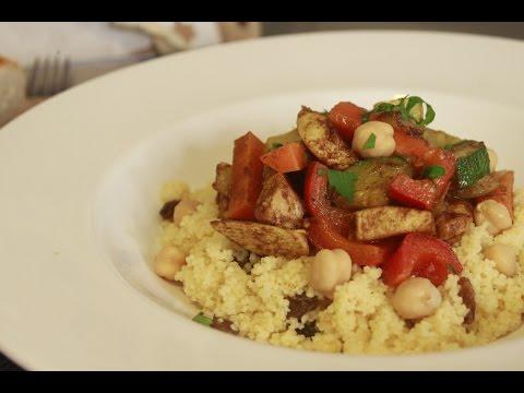 Cous-cous con Verduras y Pollo