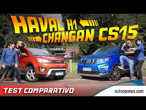 Test comparativo Haval H1 Vs Changan CS15