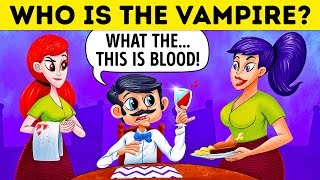 Video Who Is The Vampire? 🧛 17 Riddles For Vampire Experts Only MP3, 3GP, MP4, WEBM, AVI, FLV Desember 2018