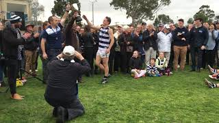 2016 OGFC Premiership - The Premiership Cup Presentation