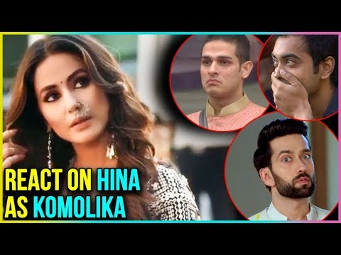 Hina Khan As Komolika : Luv Tyagi, Priyank Sharma,