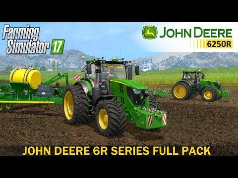 John Deere 6R Series Full Pack v1.0