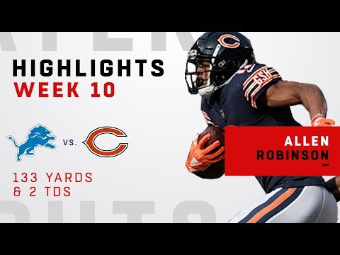 Allen Robinson Highlights vs. Lions