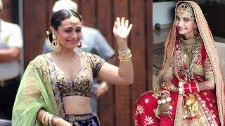 Video LIVE Rani Mukherjee's GRAND ENTRY At Sonam Kapoor's Wedding Mand MP3, 3GP, MP4, WEBM, AVI, FLV Agustus 2018